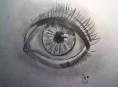 Dessin Oeil réaliste de BridaKagamiku