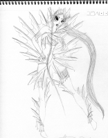 Dessin Style mermaid 2 de Godeath000