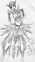 Dessin Style mermaid de Godeath000