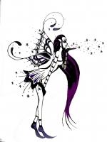 Dessin Fee tattoo de Godeath000