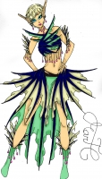 Dessin Style mermaid color de Godeath000