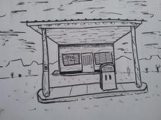 Dessin Desert pompe de Areyouafred