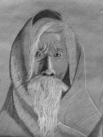 Dessin Vieil homme 1 de LafeCrayonneuse