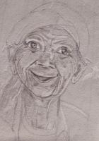 Dessin Vieille dame 3 de LafeCrayonneuse