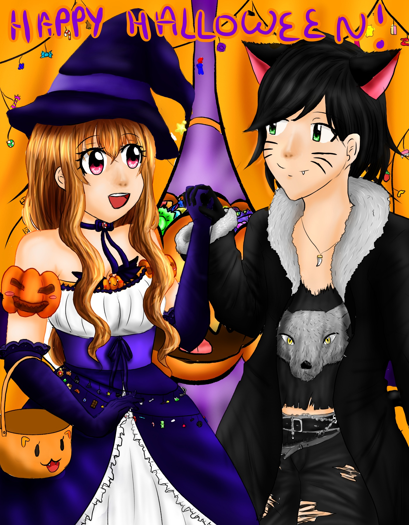 Dessin Happy Halloween de Emethyste