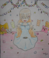 Dessin Fuku   Candies Party ! de Emethyste