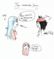 Dessin Fuyu, Youna et moi ~ de Emethyste
