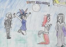 Dessin Happy Halloween ! ? de Emethyste