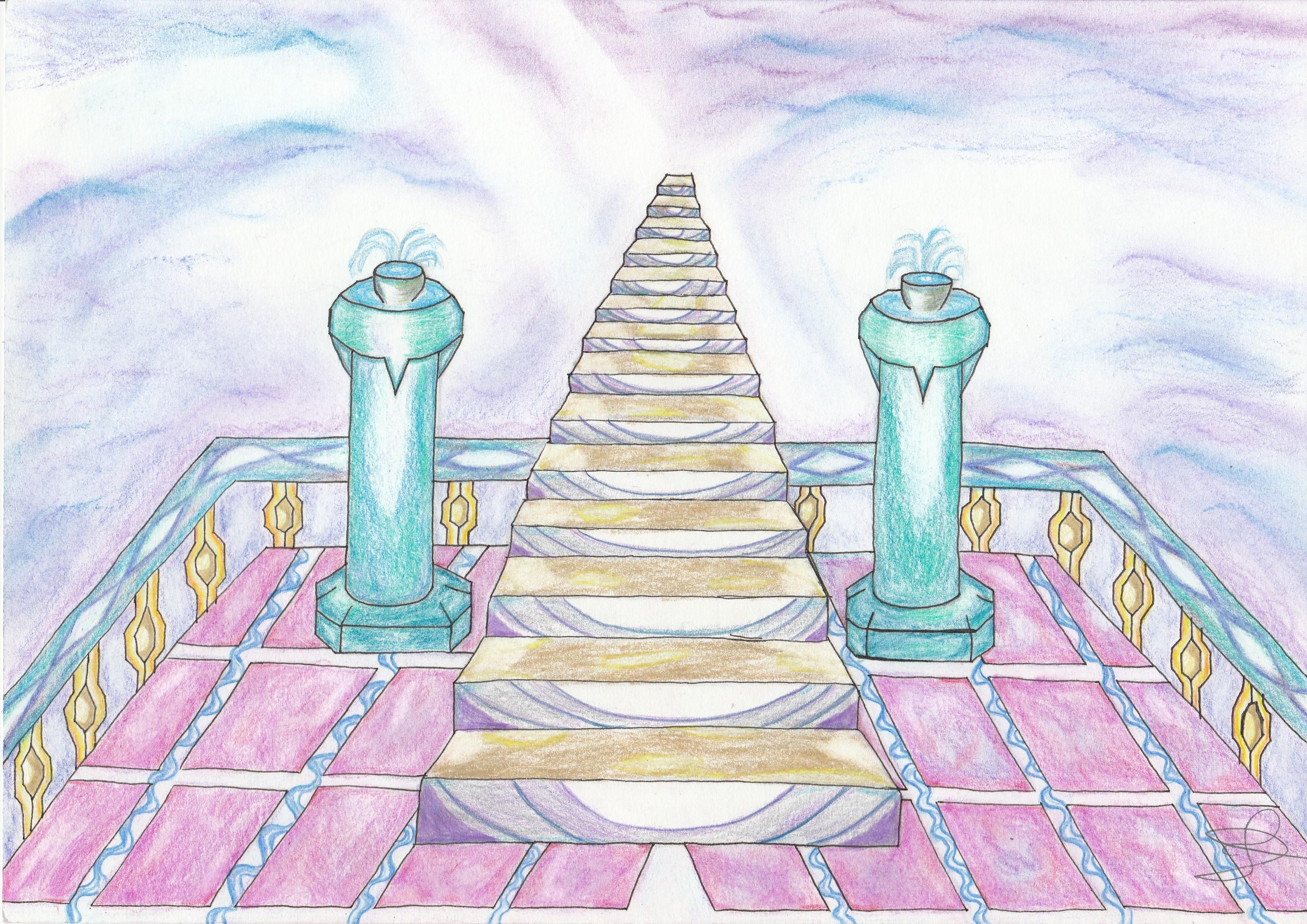 Dessin L'Ascension du Paradis de Nimimura
