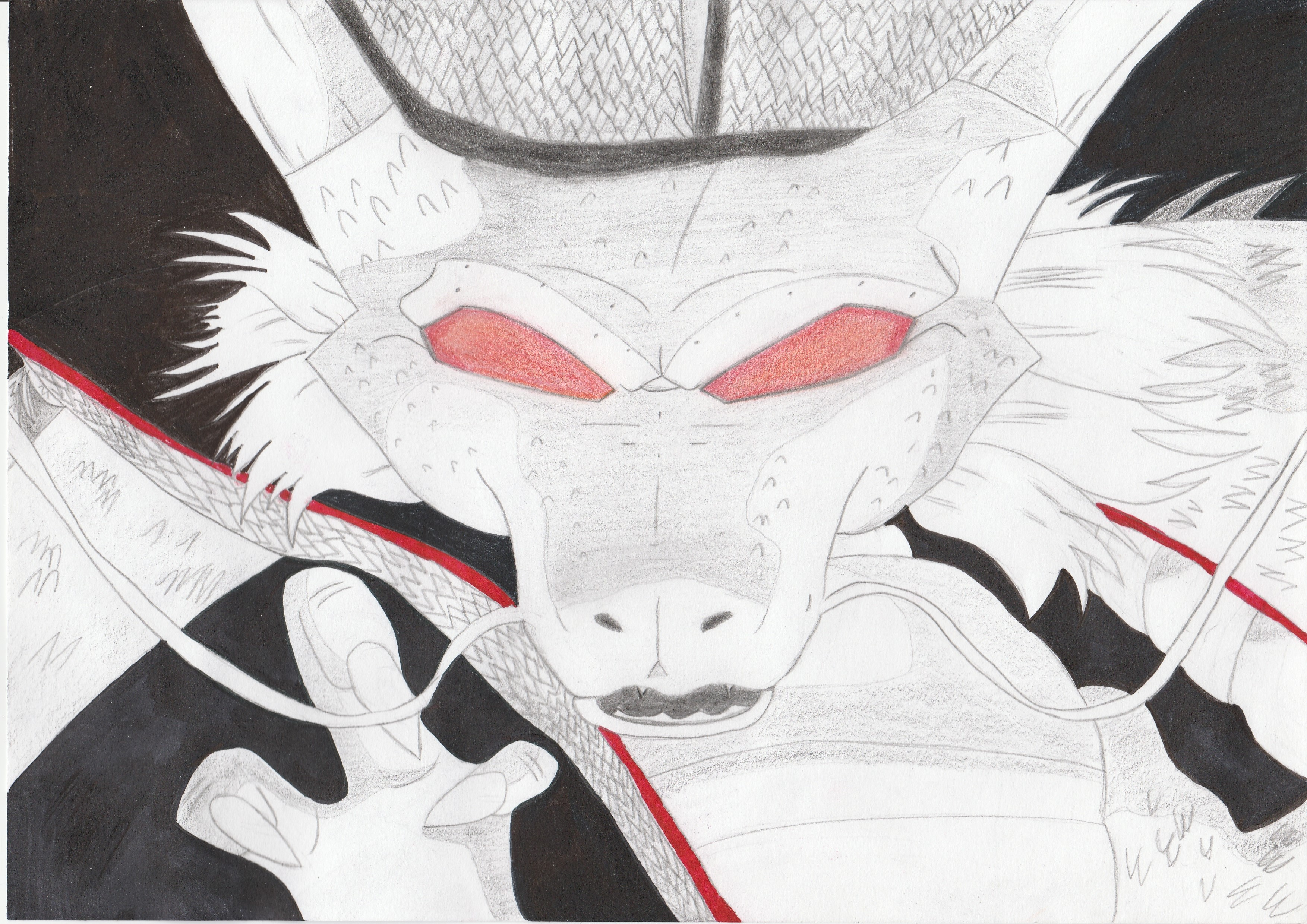 Dessin Shenron de Nimimura