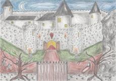 Dessin Château de Dracula de Nimimura