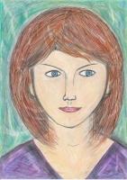 Dessin Portrait de femme de Nimimura