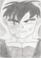Dessin Son Gohan Ado Dragon Ball Z de Nimimura