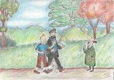 Dessin Tintin 1 de Nimimura