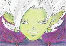 Dessin Zamasu fusion de Nimimura