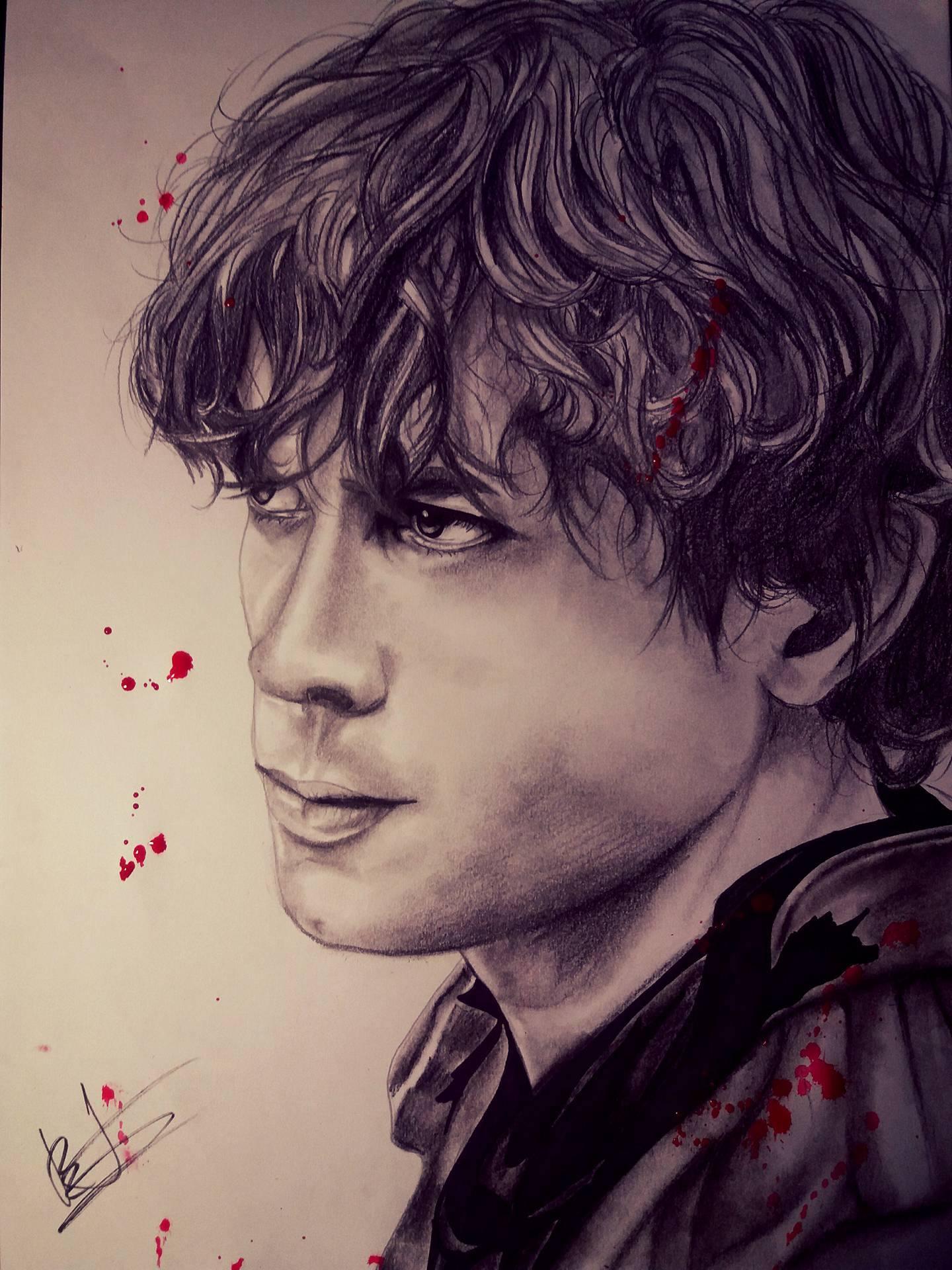 Dessin Bellamy Blake Portrait de Kdraw