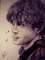 Dessin Bellamy Blake Portrait de Kdraw