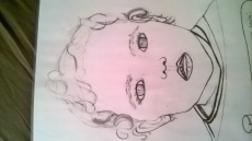 Dessin Portrait enfant de Nanounaouar