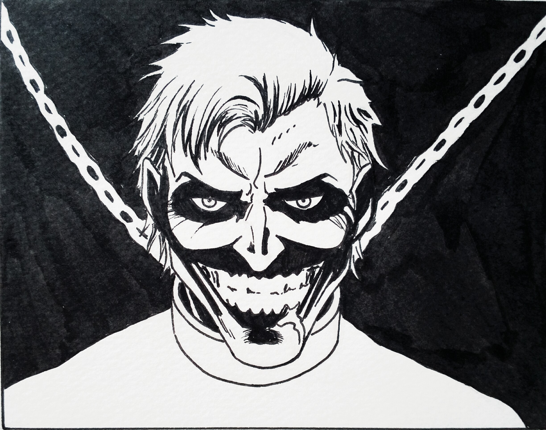 Dessin Joker de Salome