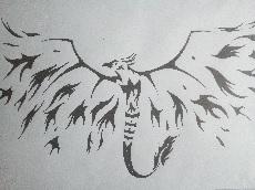 Dessin Phoenix de Salome