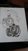 Dessin Rose temporelle de NanouD4558
