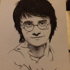 Dessin HARRY POTTER de Artchitect59