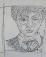 Dessin Harry Potter de Caribou