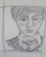 Dessin Harry Potter de Caribou