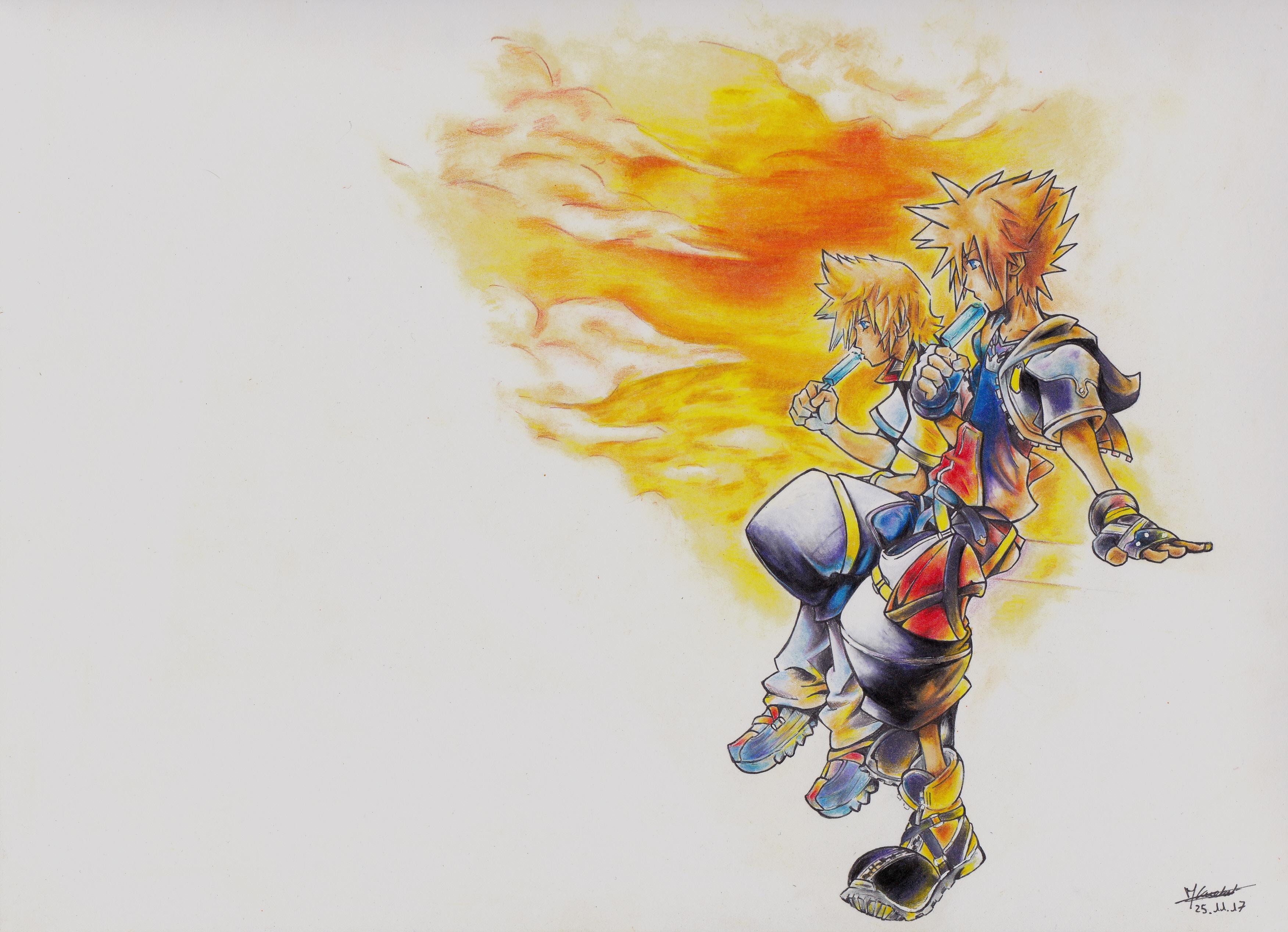Dessin Kingdom Hearts de Bubulle23