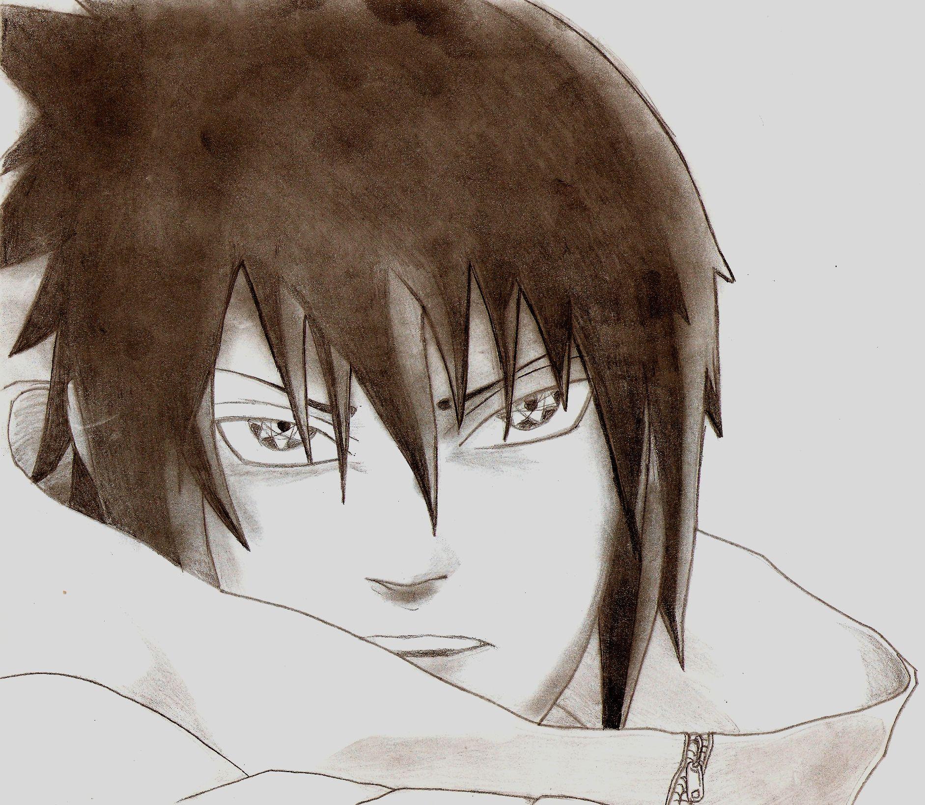 Dessin Sasuke de Dclimaxb