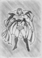 Dessin Superman de Dclimaxb