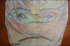 Dessin Homme masqué de Lola27
