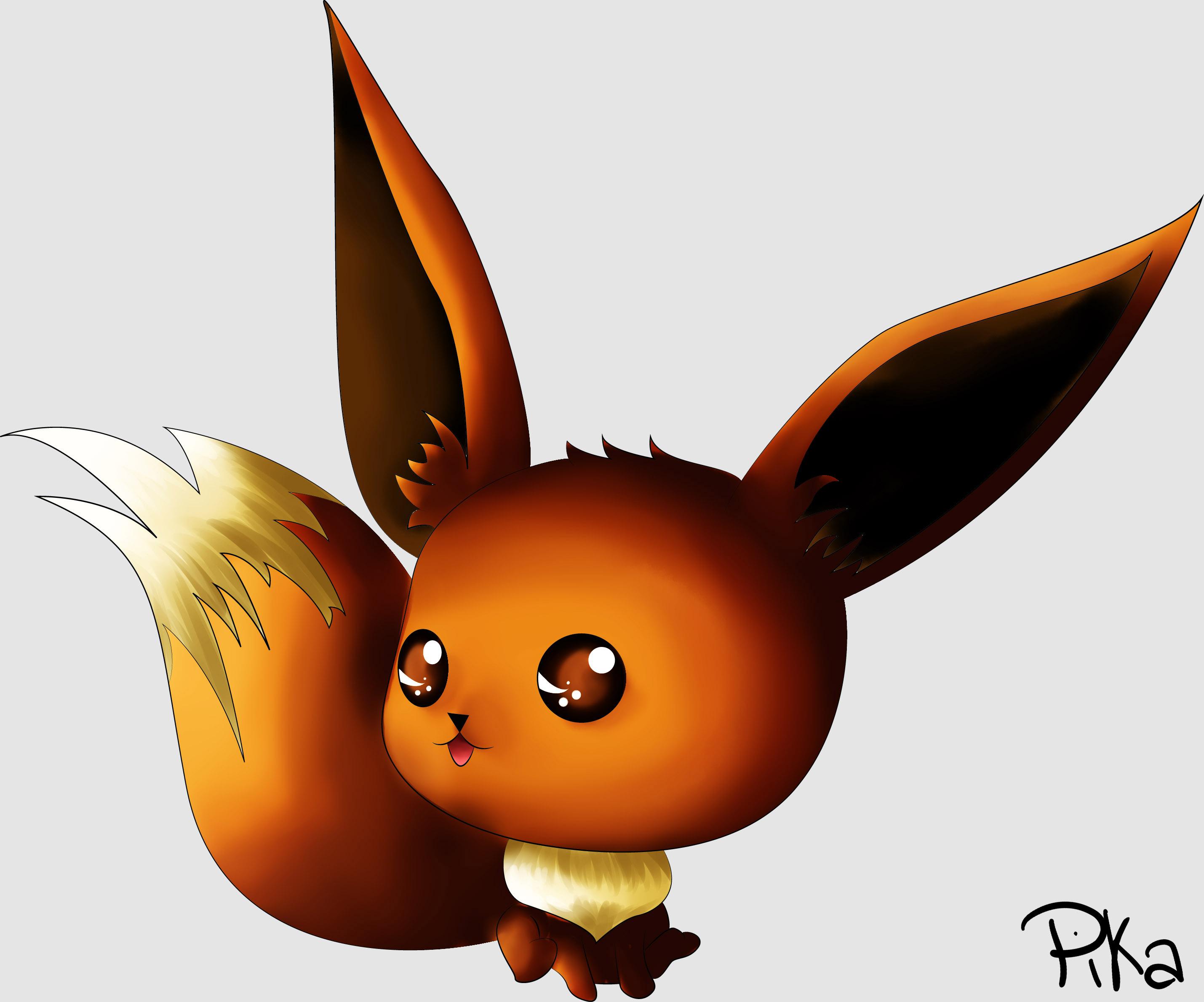 Dessin évoli de Pikachette59