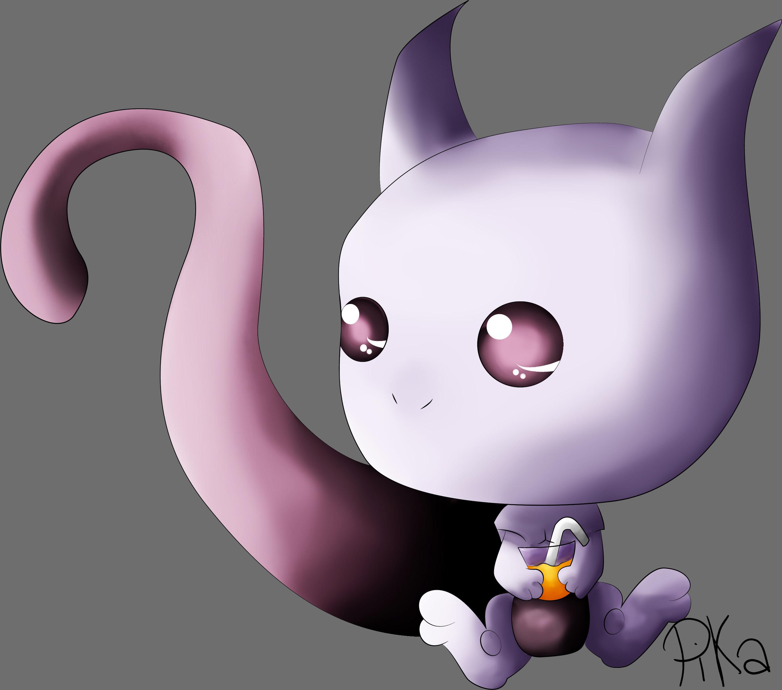 Dessin Mewtwo :) de Pikachette59