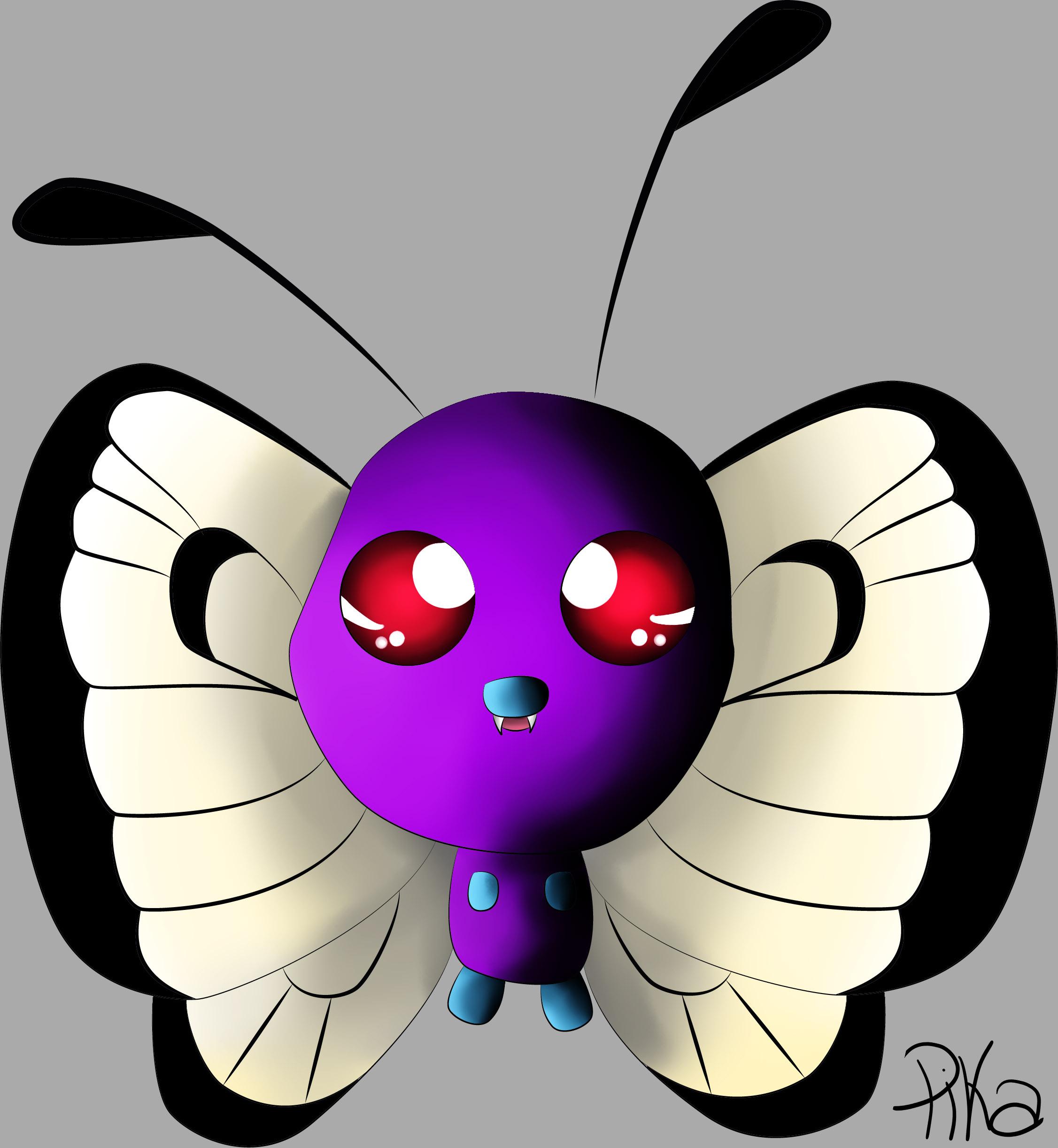 Dessin Papilusion de Pikachette59