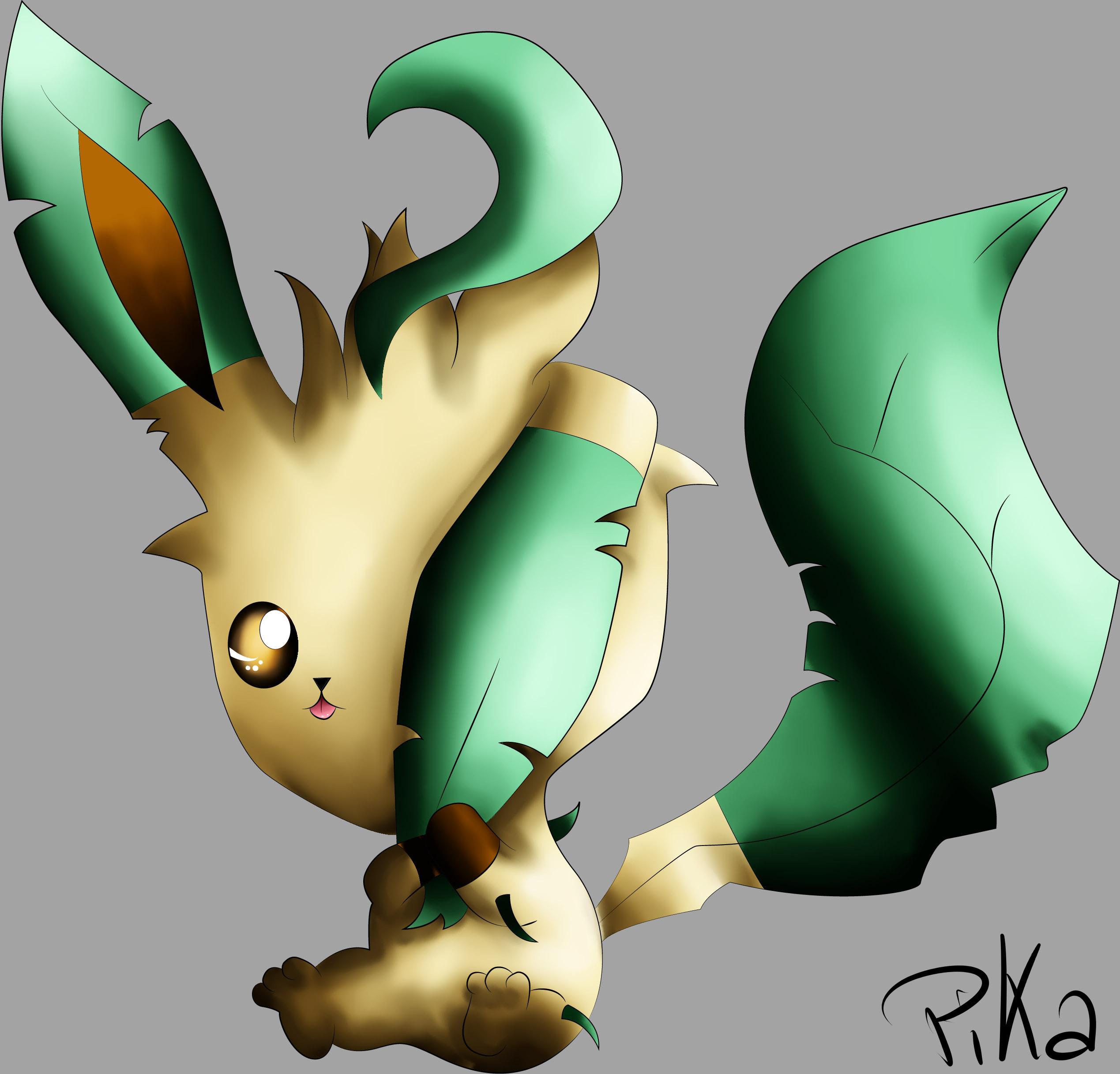 Dessin Phyllali de Pikachette59