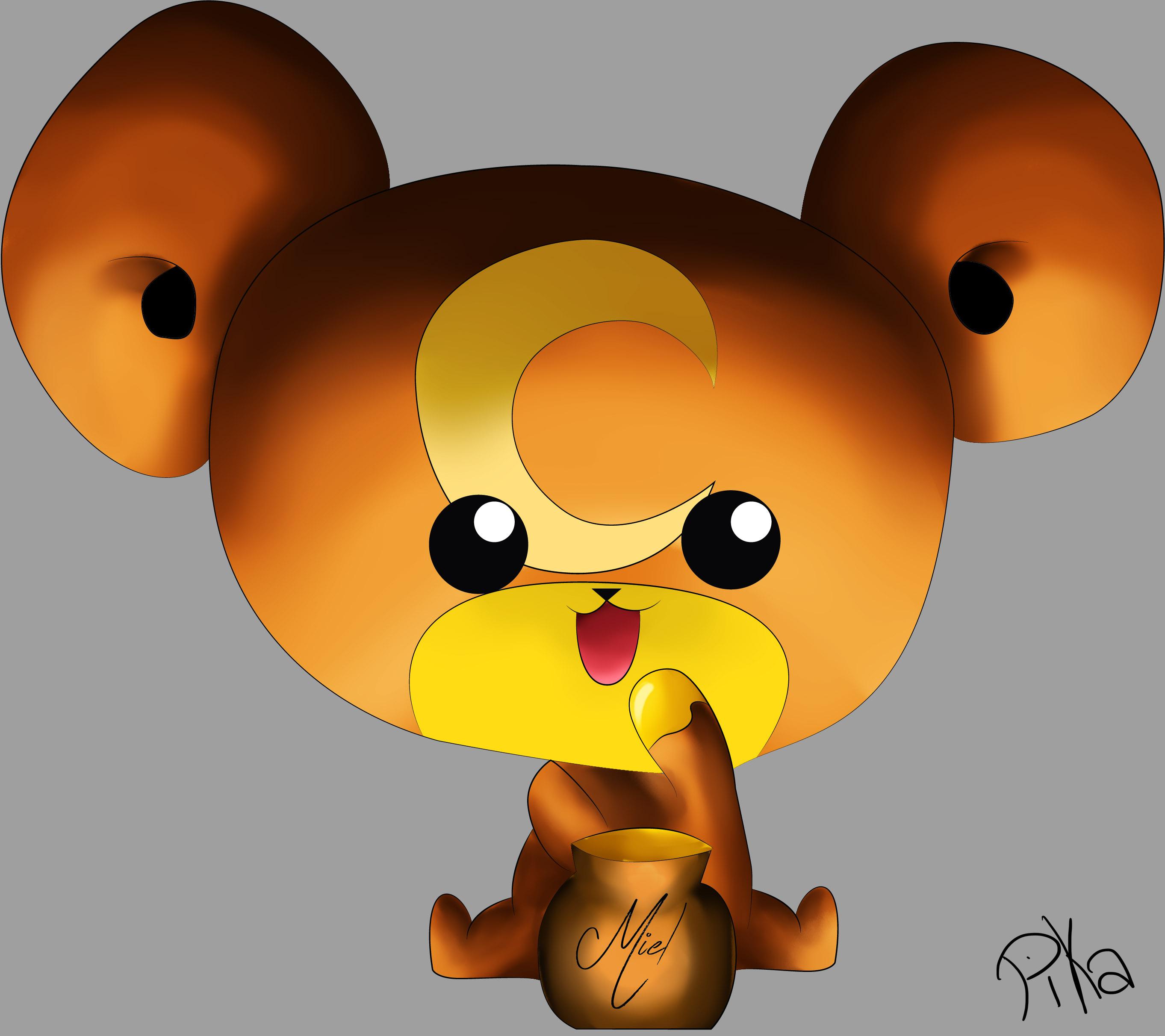 Dessin Teddiursa de Pikachette59