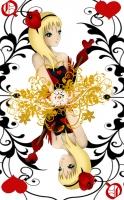 Dessin Reine de coeur de Pikachette59