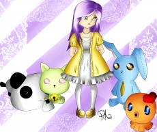 Dessin Ma petite Mia :3 de Pikachette59