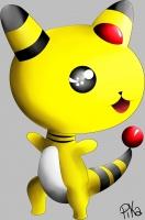 Dessin Pharamp de Pikachette59