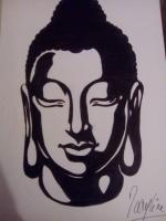 Dessin Bouddha de Cassy