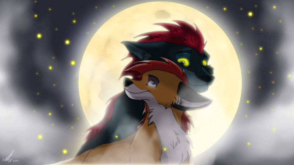 Dessin Moonlight lovers de MarieDArt