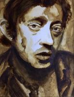 Dessin Serge Gainsbourg de Kemyart