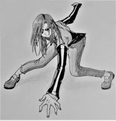 Dessin Posture dinamique de Aokiro