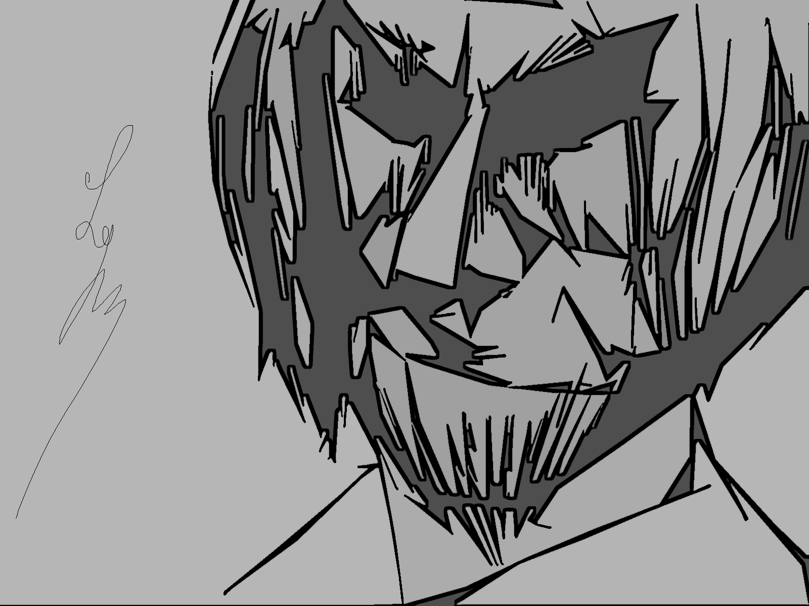 Dessin Inspiration de peur de Shinji789