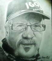 Dessin Portrait de mon papa de OuyaArt