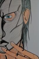 Dessin L'homme au masque de OmniusPolatus