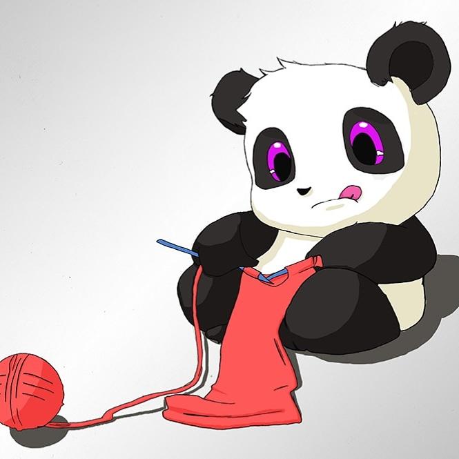 Dessin Petit panda de AyameYakumi