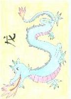 Dessin Dragon chinois de Chinart