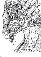 Dessin Dragon de Pizou
